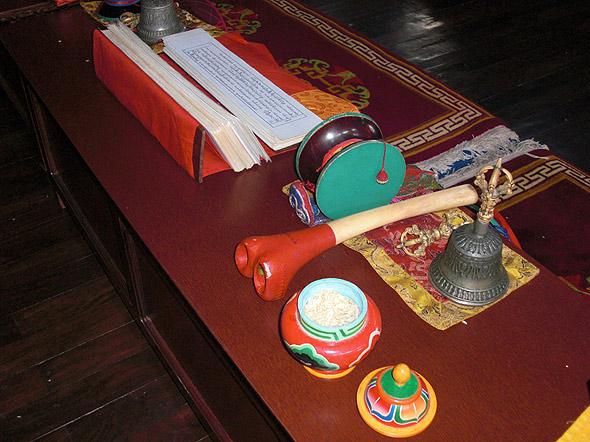 Тибетские ритуальные предметы