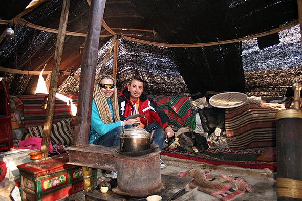 В гостях у тибетского пастуха