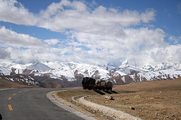 Дорога в долину Катманду
