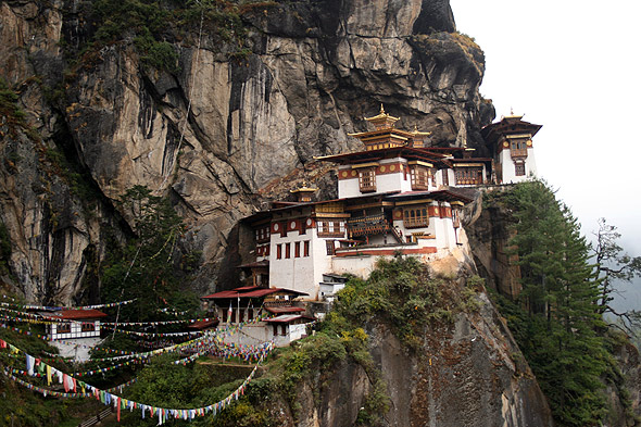 Монастырь Такцанг-Лакханг - гнездо тигрицы