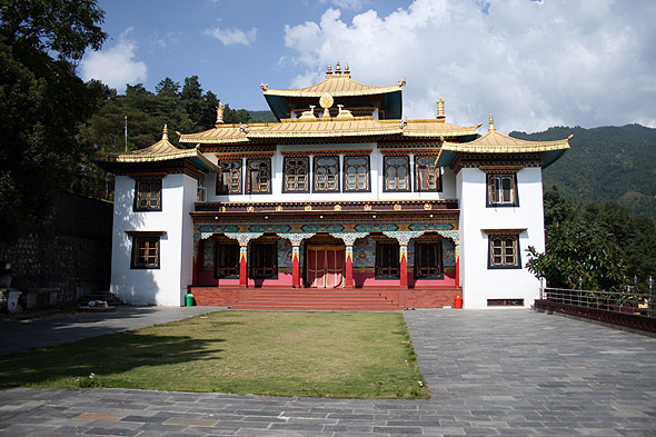 Тибетский монастырь Namkha Khyung Zong Monastery