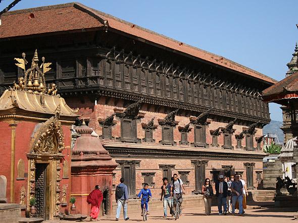 Дворец 55 окон в Бхактапур