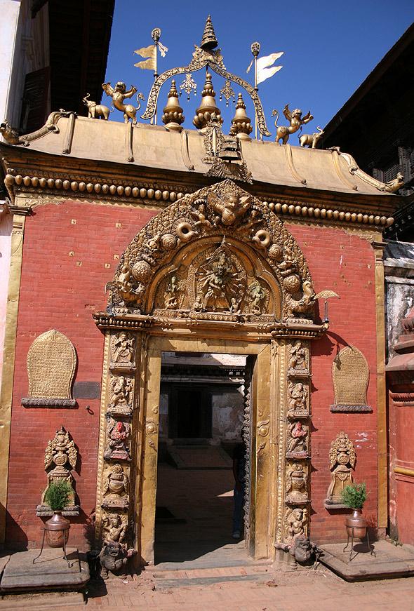 Золотые Ворота в Бхактапуре