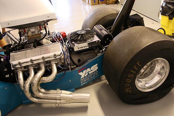 Двигатель трехместного драгстера