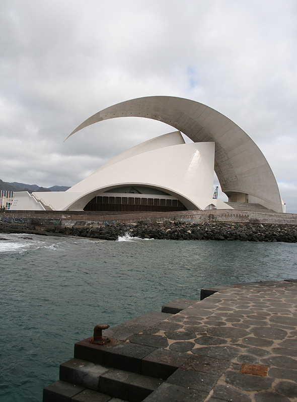 Концертный зал Тенерифе (Auditorio de Tenerife), Санта-Круз