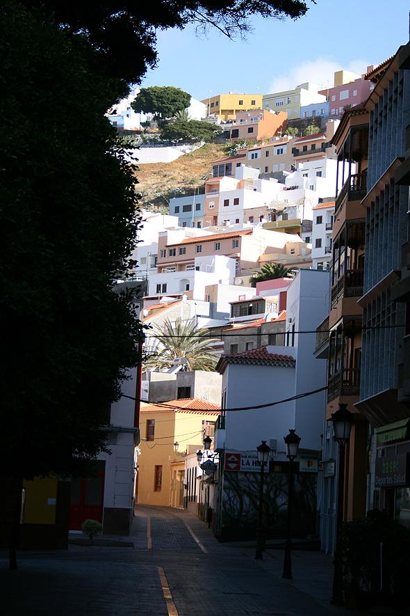 Город Сан-Себастиан-де-ла-Гомера