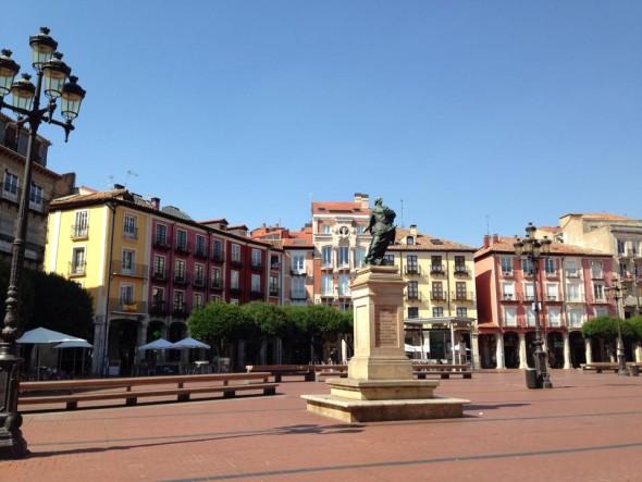 Площадь, Бургос, Испания