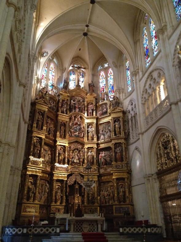 В Бургосском соборе, Испания