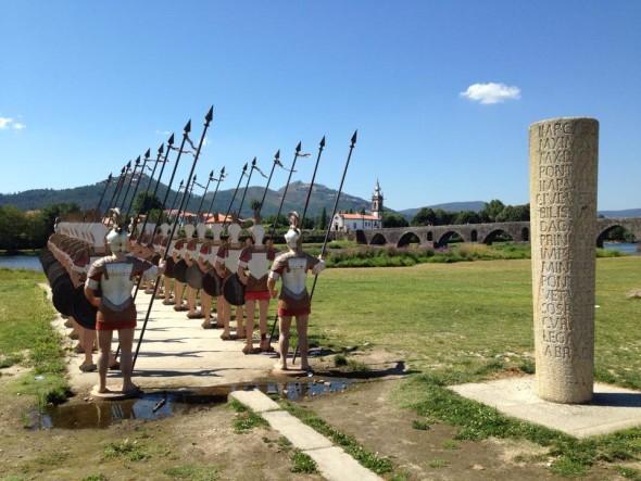 Римский легион на берегу Лимы