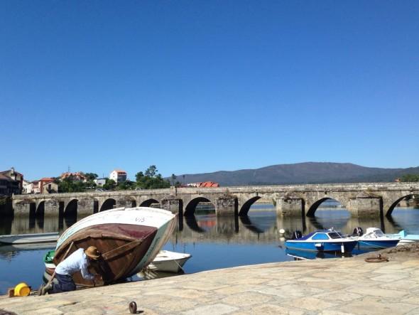 Ponte Sampaio, Путь Святого Якова