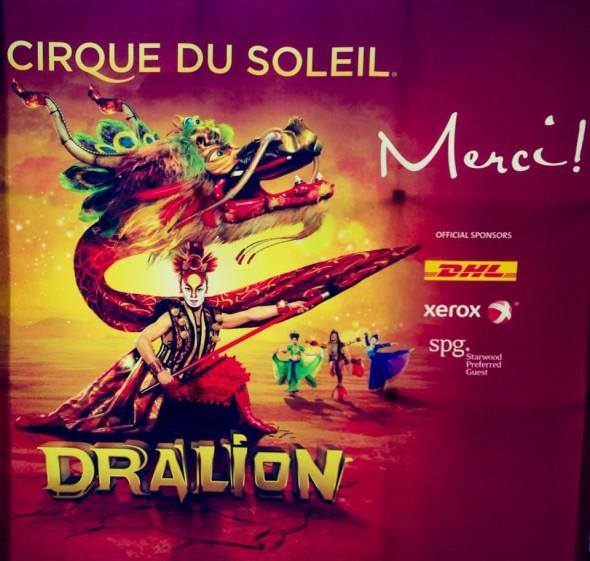 Шоу Цирка дю Сюлей - Dralion