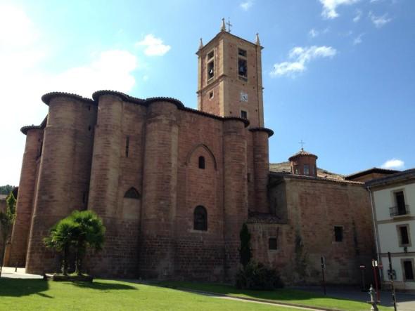 Город Нахера, Путь Святого Иакова, Испания