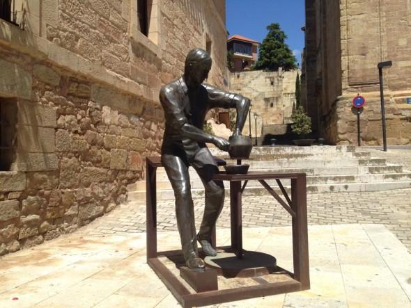 Скульптура в Наваррете