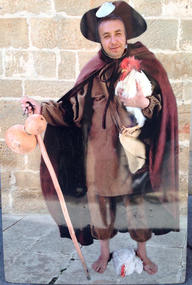 Так выглядел паломник в средние века