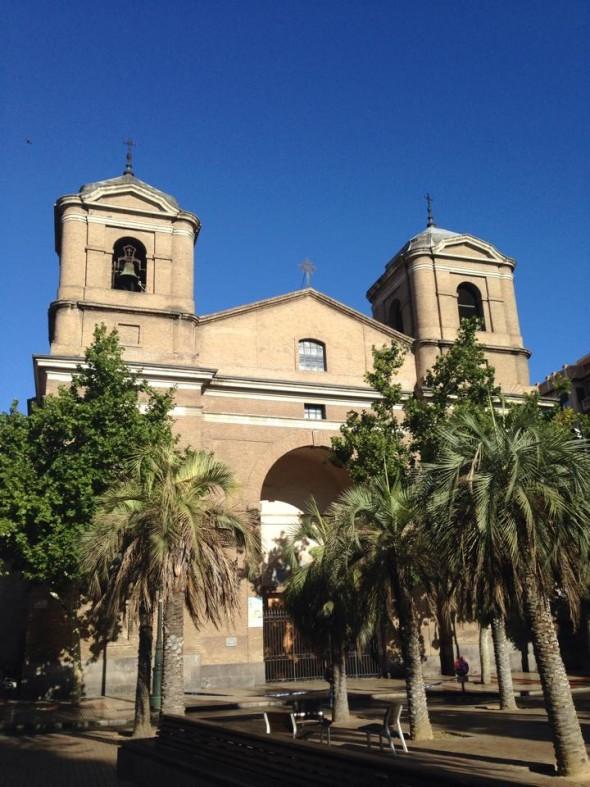 Церковь в САрагосе