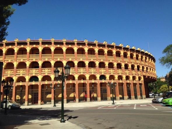 Арена для корриды в Сарагосе