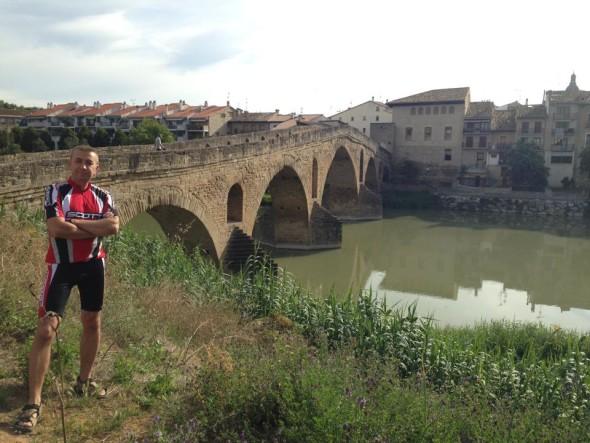 Мост на выезде из Пуенте ла Рейна