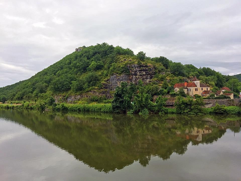Пейзаж с набережной Кажар