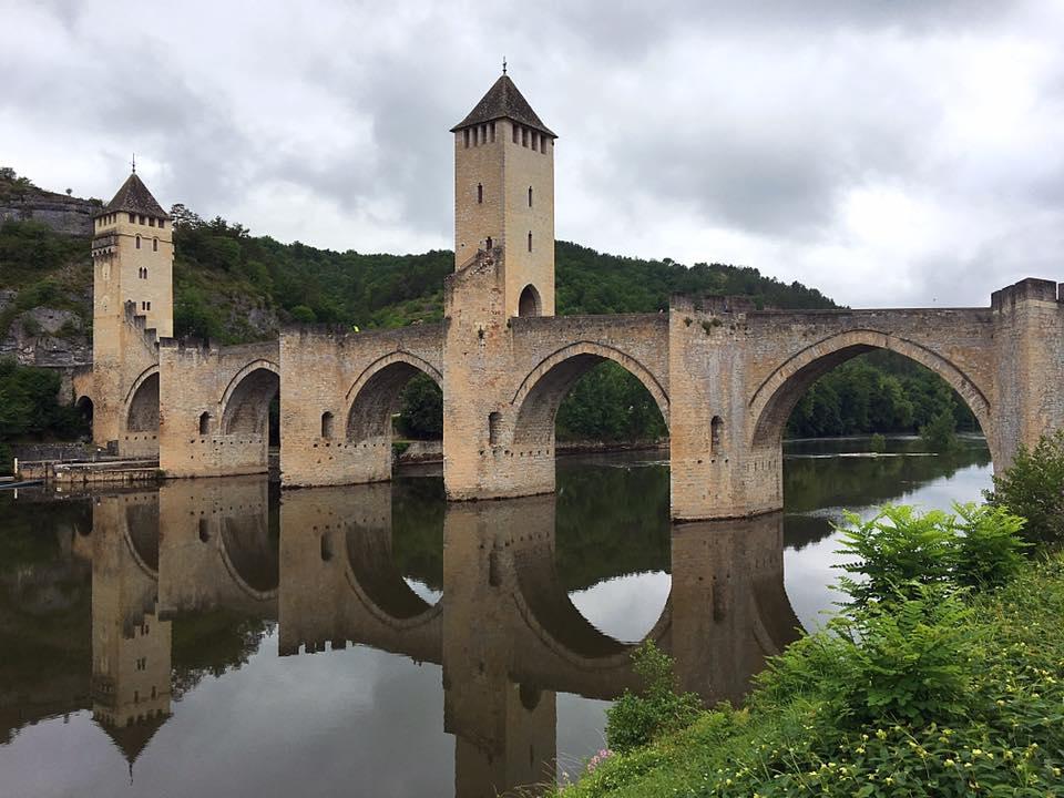 Мост Valentre в Каоре