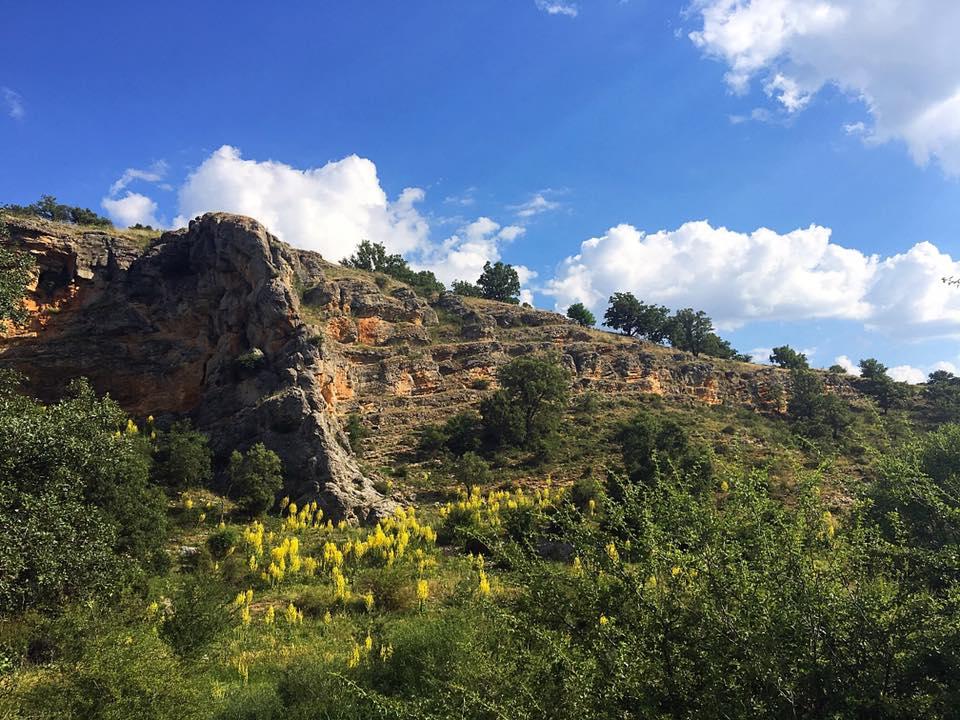 Путь к Jodra del Pinar