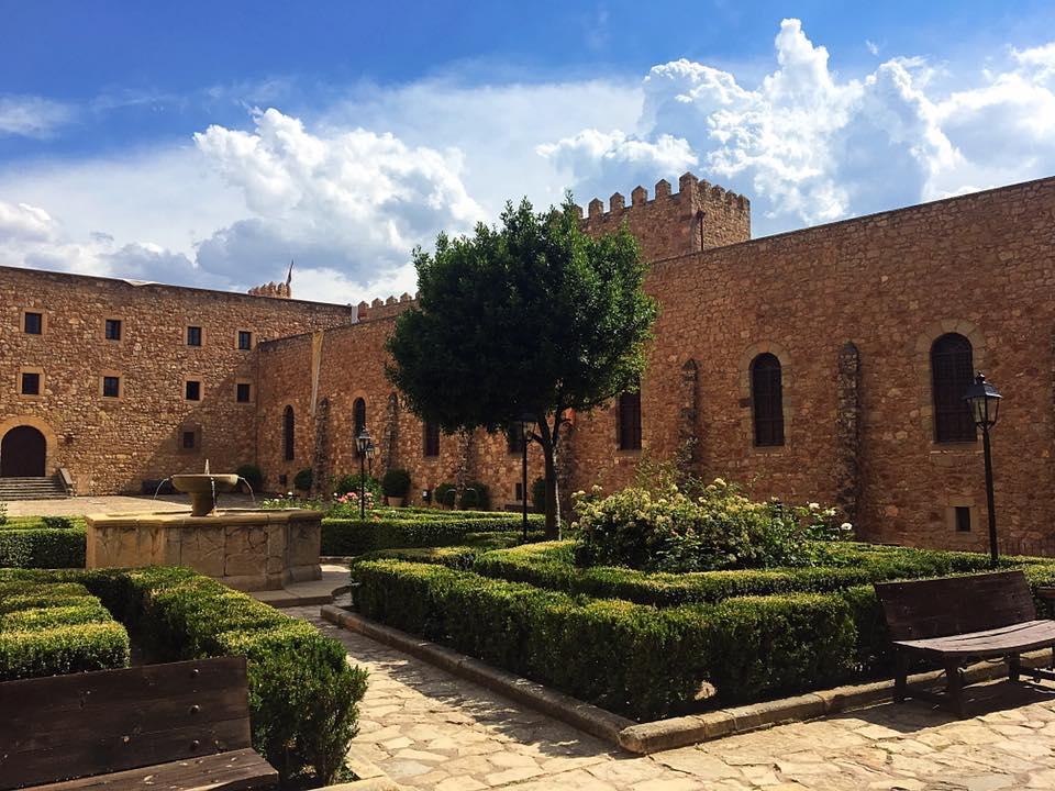Внутренний двор Крепости Сигуэнсы