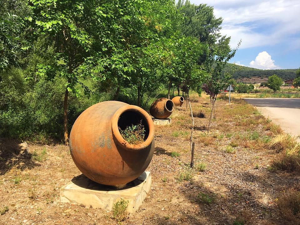 Кувшины на выходе из Pinilla de Jadraque