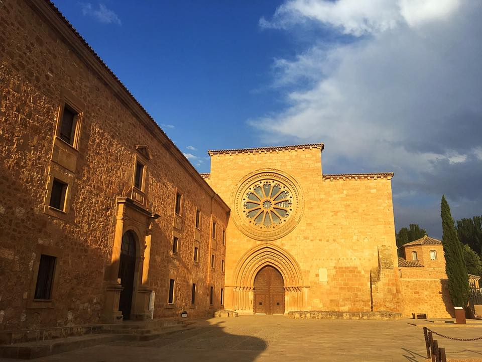Монастырь Santa Maria de Huerta