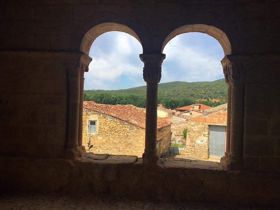 Вид из церкви в Pinilla de Jadraque