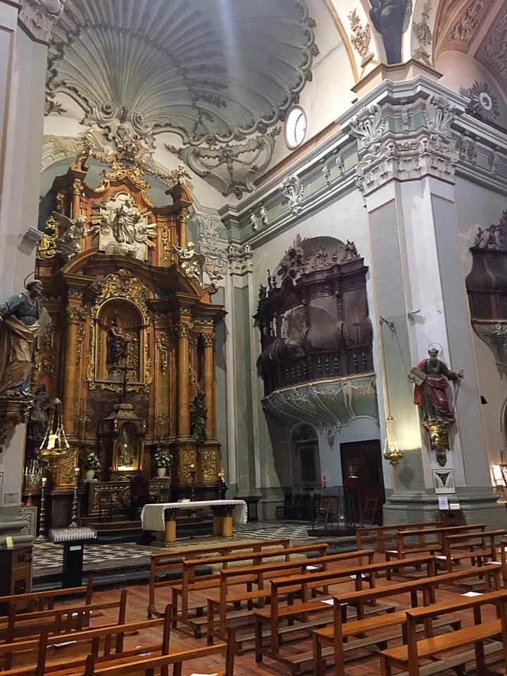 Внутри церкви San Juan