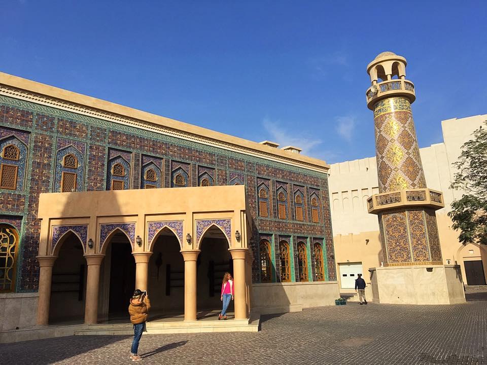 Мечеть в культурной деревне Катара