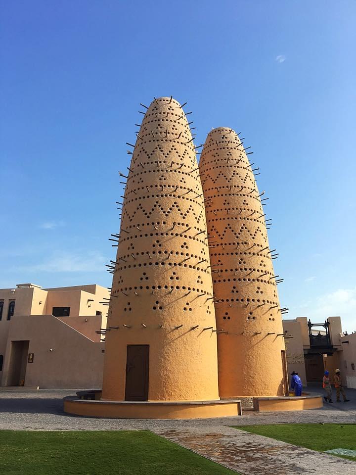 Традиционные голубятни в культурной деревне Катара