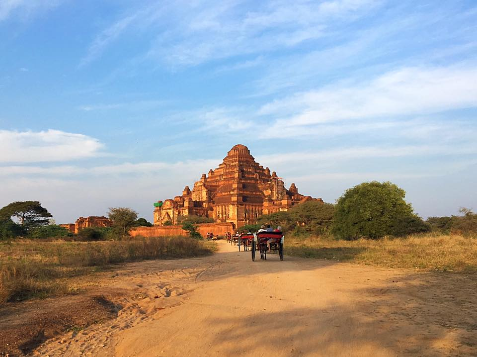 Dhammayangyi, Старый Баган