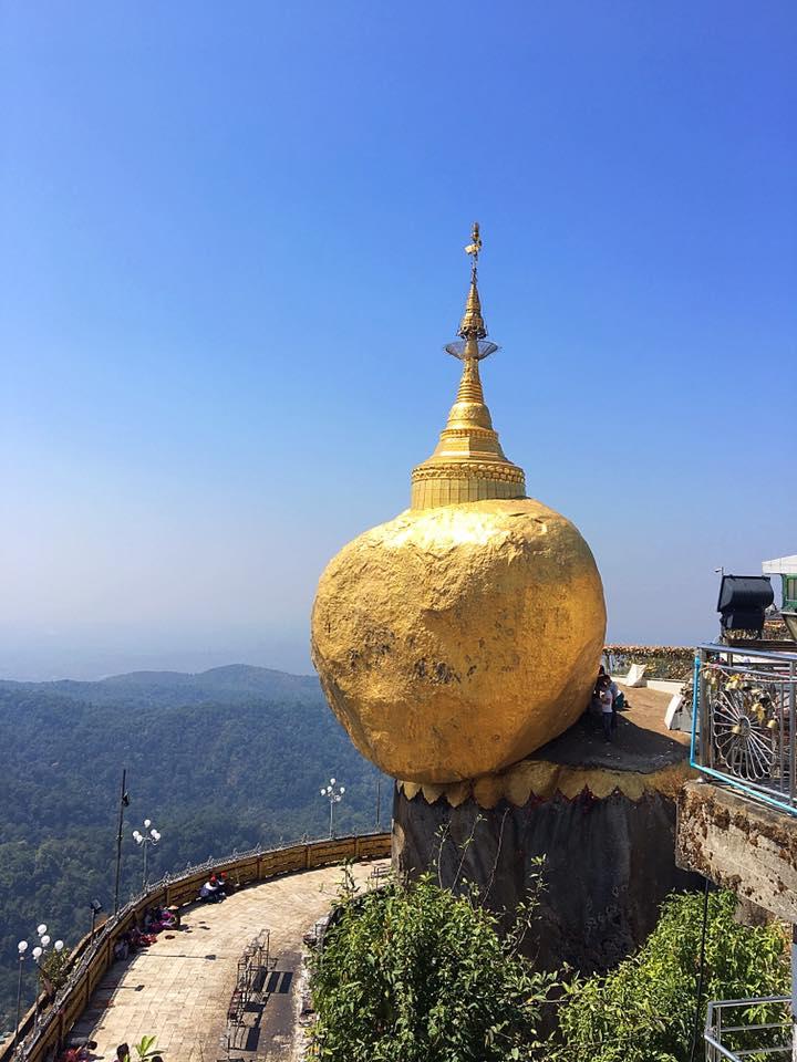 Золотой камень / Golden Rock, Мьянма