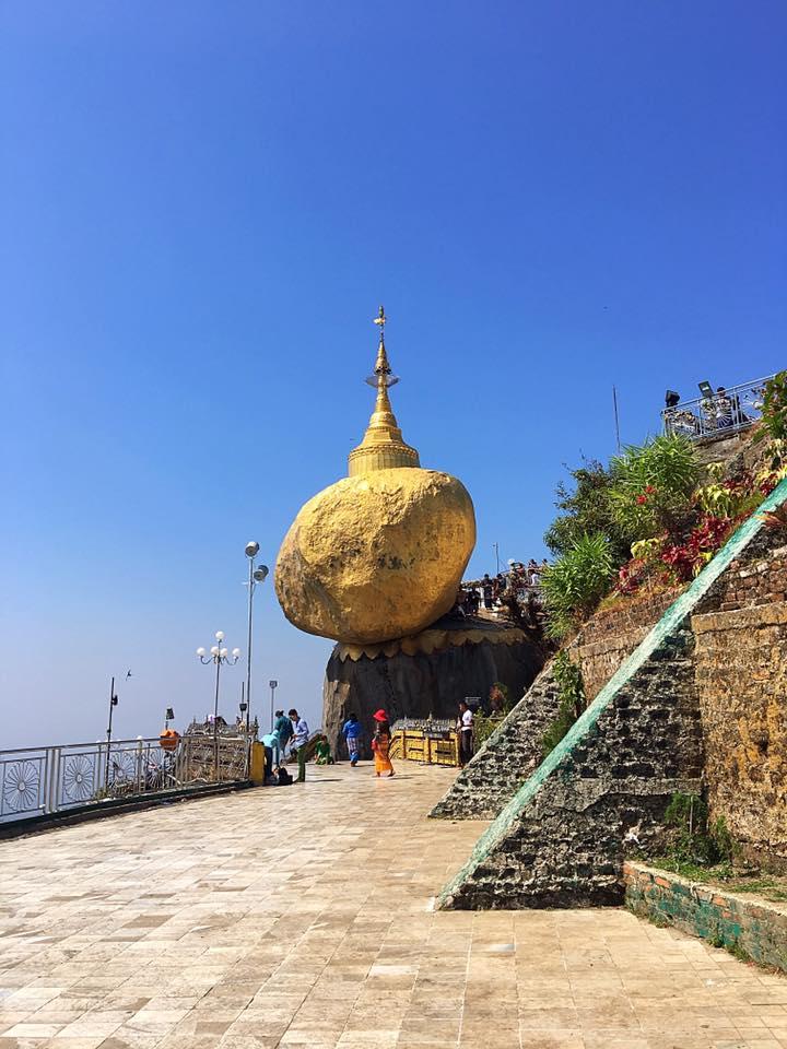 Золотой камень / Golden Rock, Бирма