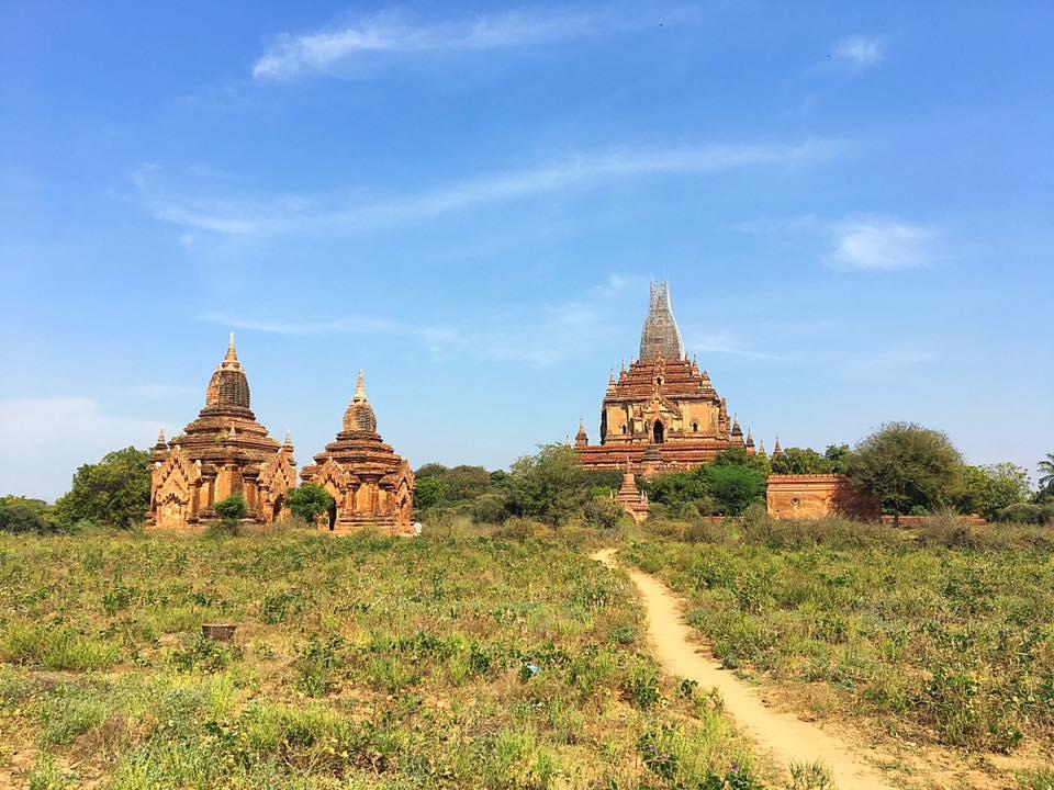 Храм Htilominio, Старый Баган