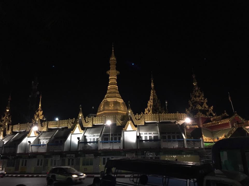 Сула пагода, Янгон
