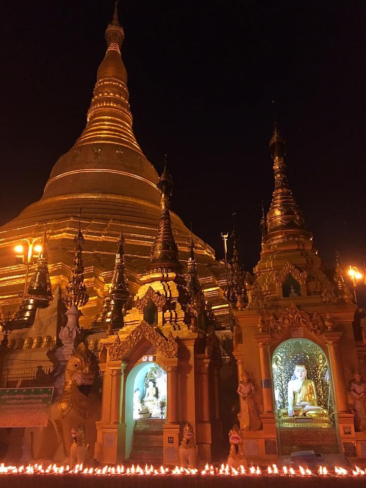 Вечерний Шведагон, Swedagon