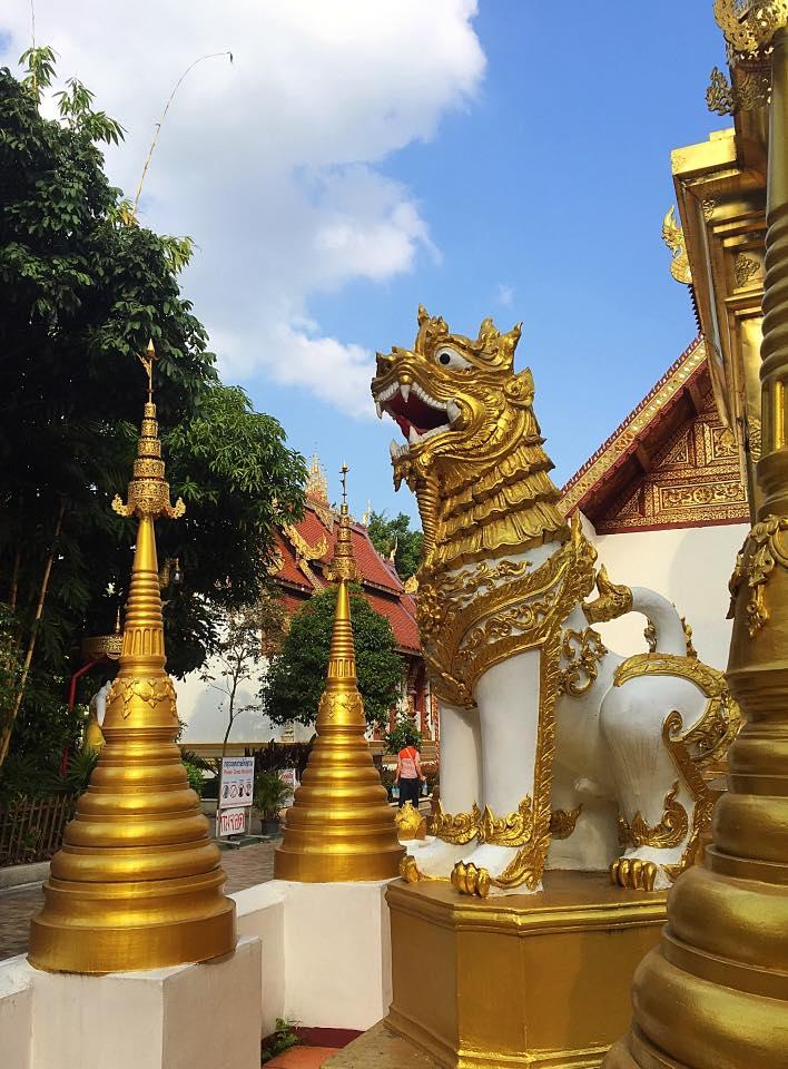 Wat Phra Sing, 1385 г