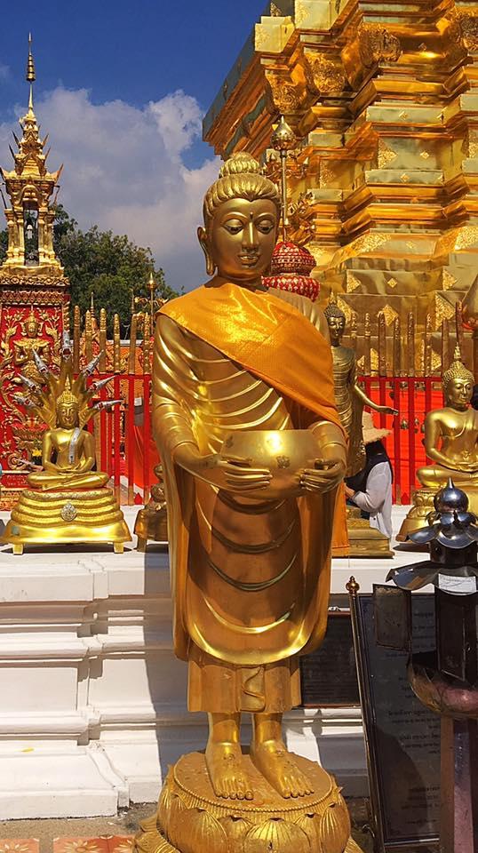 Wat Phrathat Doi Suthep, 15 км от Чианг Май