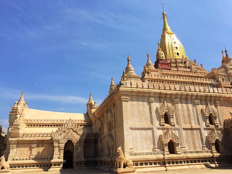 Храм Ананда, Старый Баган