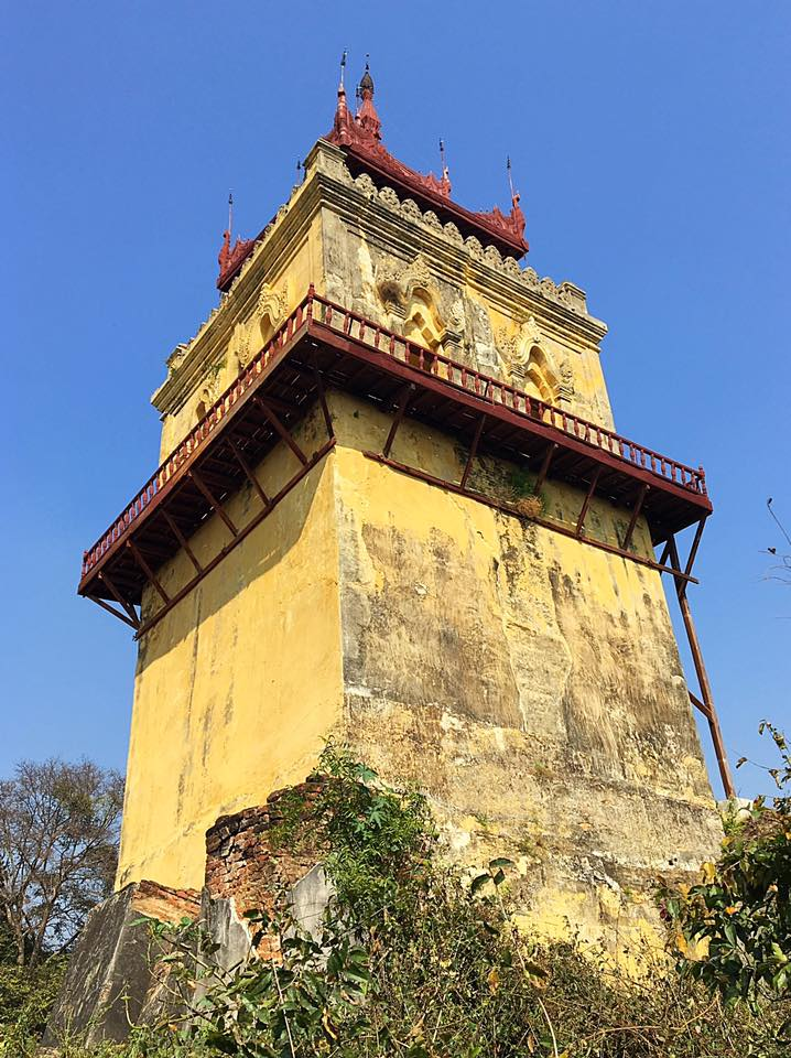Дозорная башня в Инве