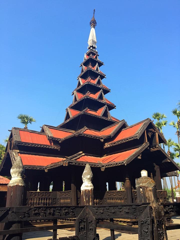 Тиковый монастырь Bagaya в Инве