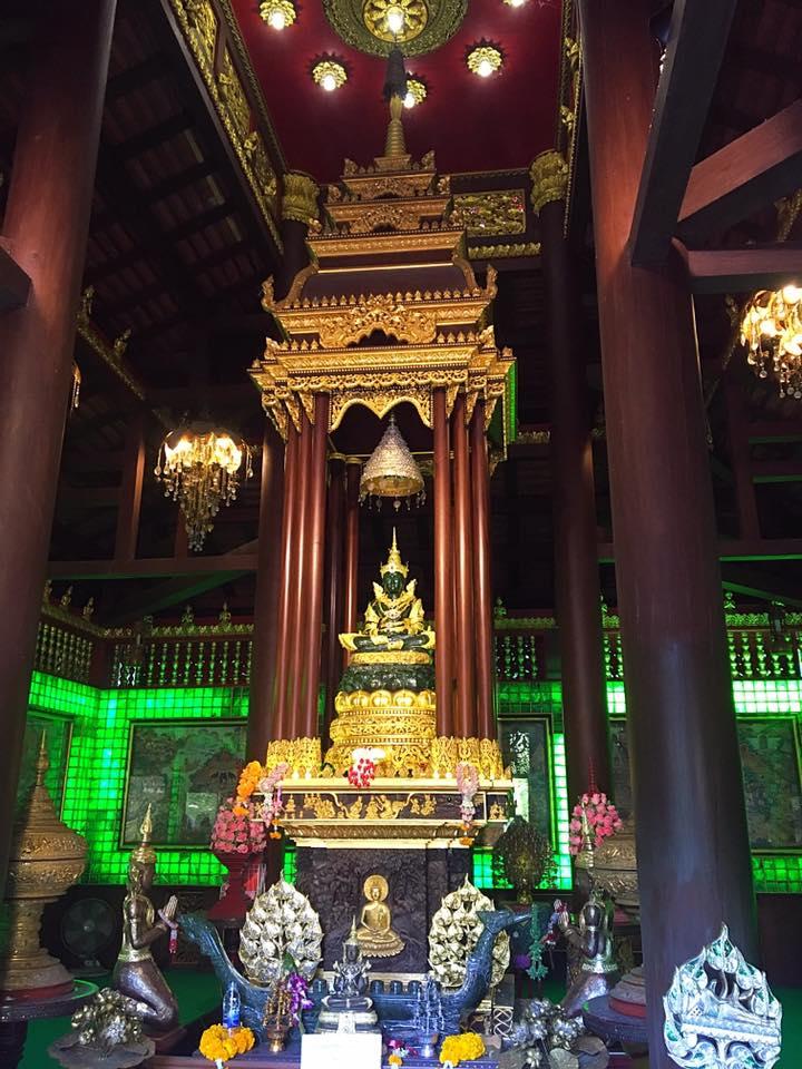 Копия Изумрудного Будды в Чианг Рай