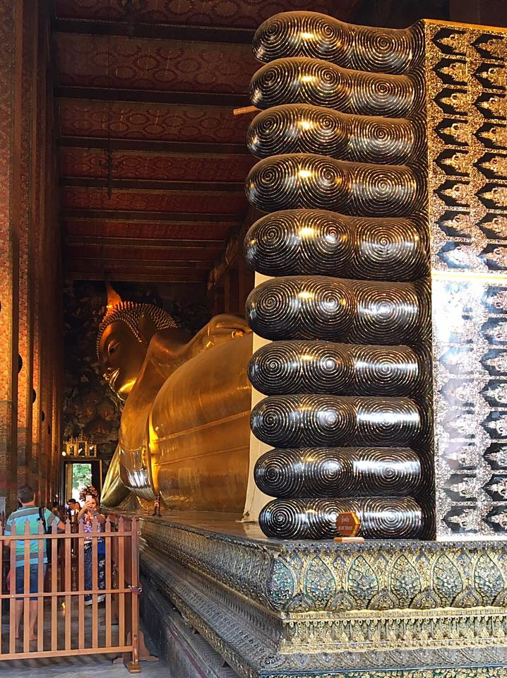 Wat Pho Relax Buddha