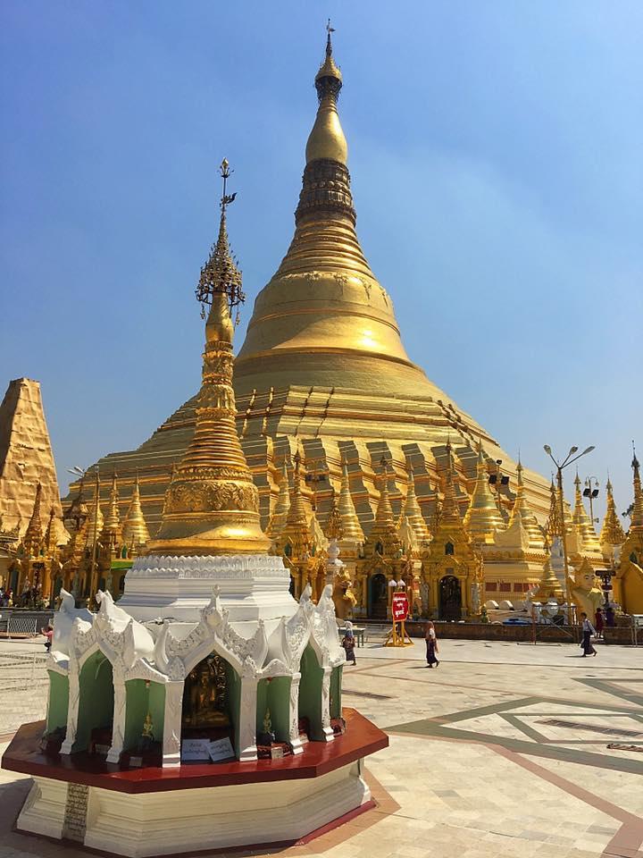 Ступа Шведагон / Swedagon, Янгон