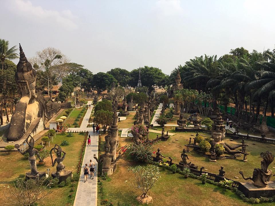 Будда Парк, Лаос