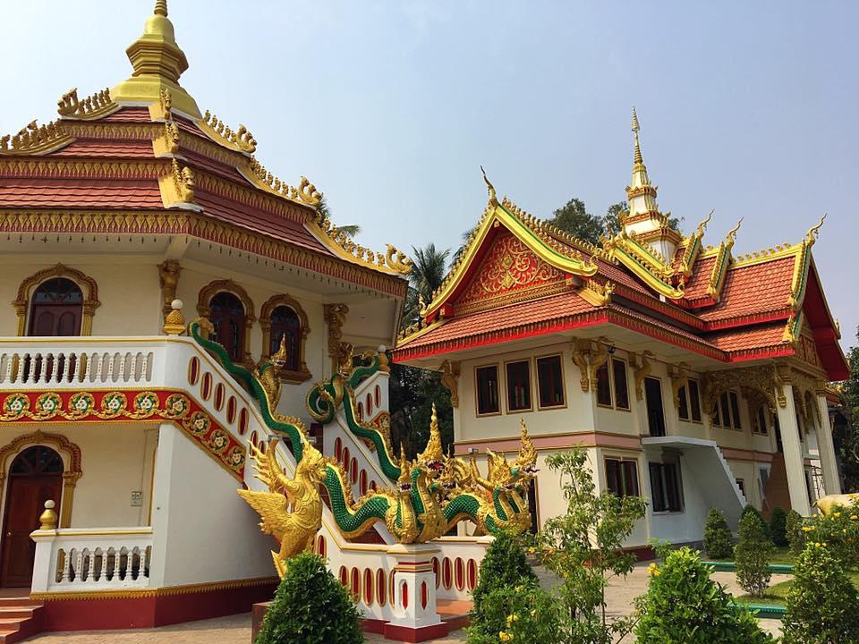 Храм Thatfoun, Вьентьян, 2010