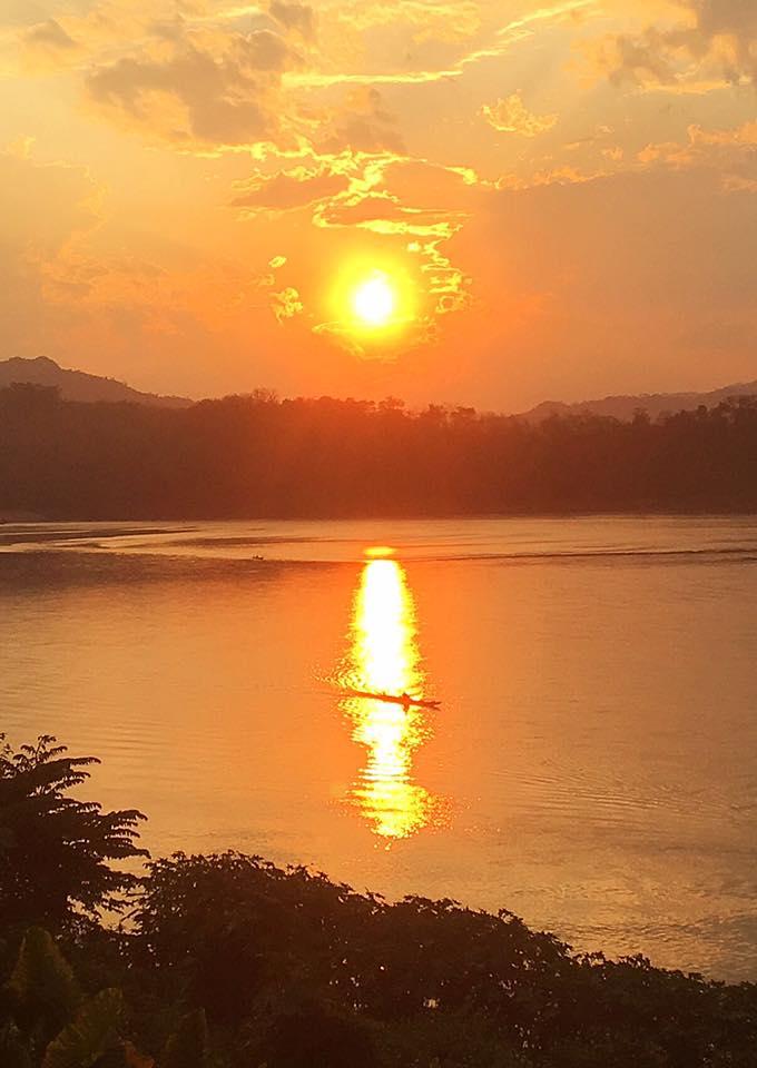 Закат на Меконге, Луангпрабанг