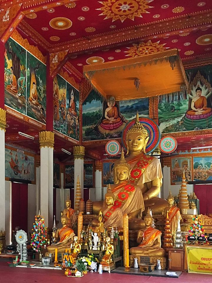 Храм Mixai (Победы) во Вьентьяне