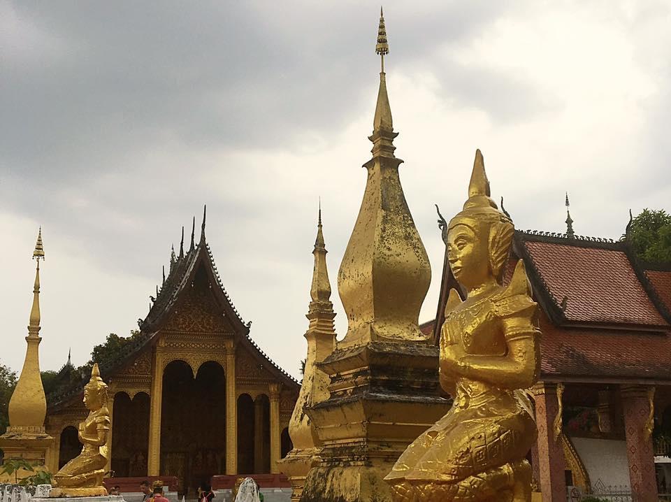 Храм Sensoukharam, Луангпрабанг